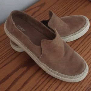 Tom's Suede Loafers (9) womens